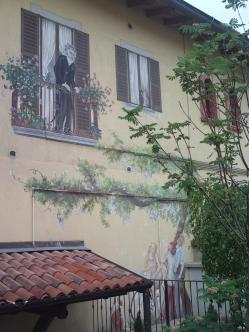 Particolare di Villa Brizzolara - Laura Airoldi