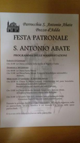 festa s. Antonio