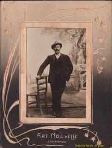 Carluccio Ronchi - in posa