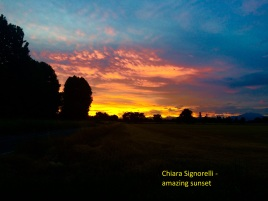 Chiara Signorelli - amazing sunset