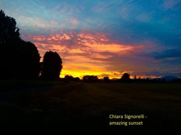 Chiara Signorelli - amazing sunset