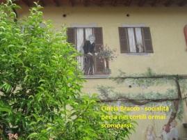 Cinzia Bracco - socialità persa nei cortili ormai scomparsi