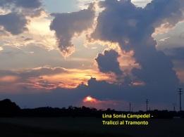 Lina Sonia Campedel - Tralicci al Tramonto