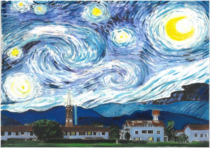 Dell'Acqua- Notte stellata su Pozzo d'Adda.jpg