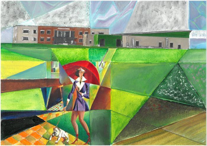 Dell'Acqua- Scuola e cubismo
